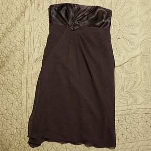 David's Bridal size 2 Truffle dress
